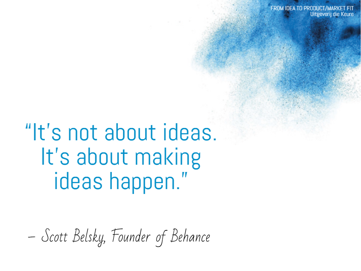 The truth about business ideas