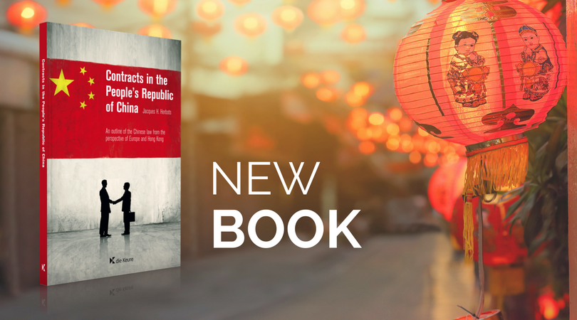 Contracts in the People's Republic of China: e-book now available