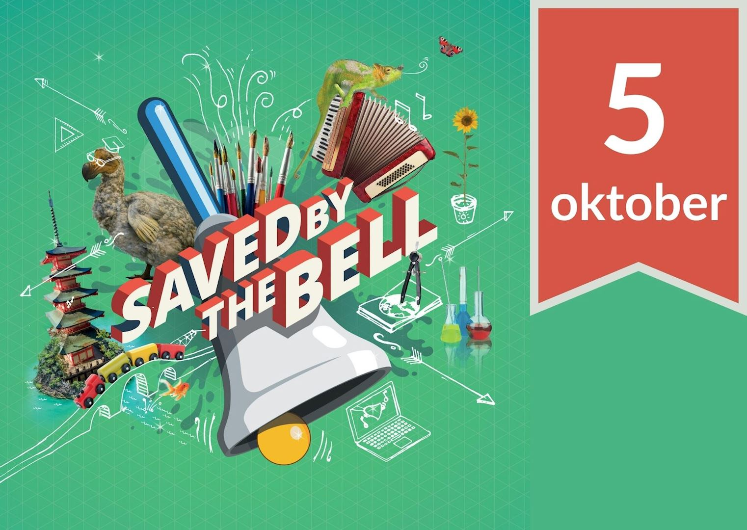 Die Keure steunt Saved by the bell. Doe jij ook mee?