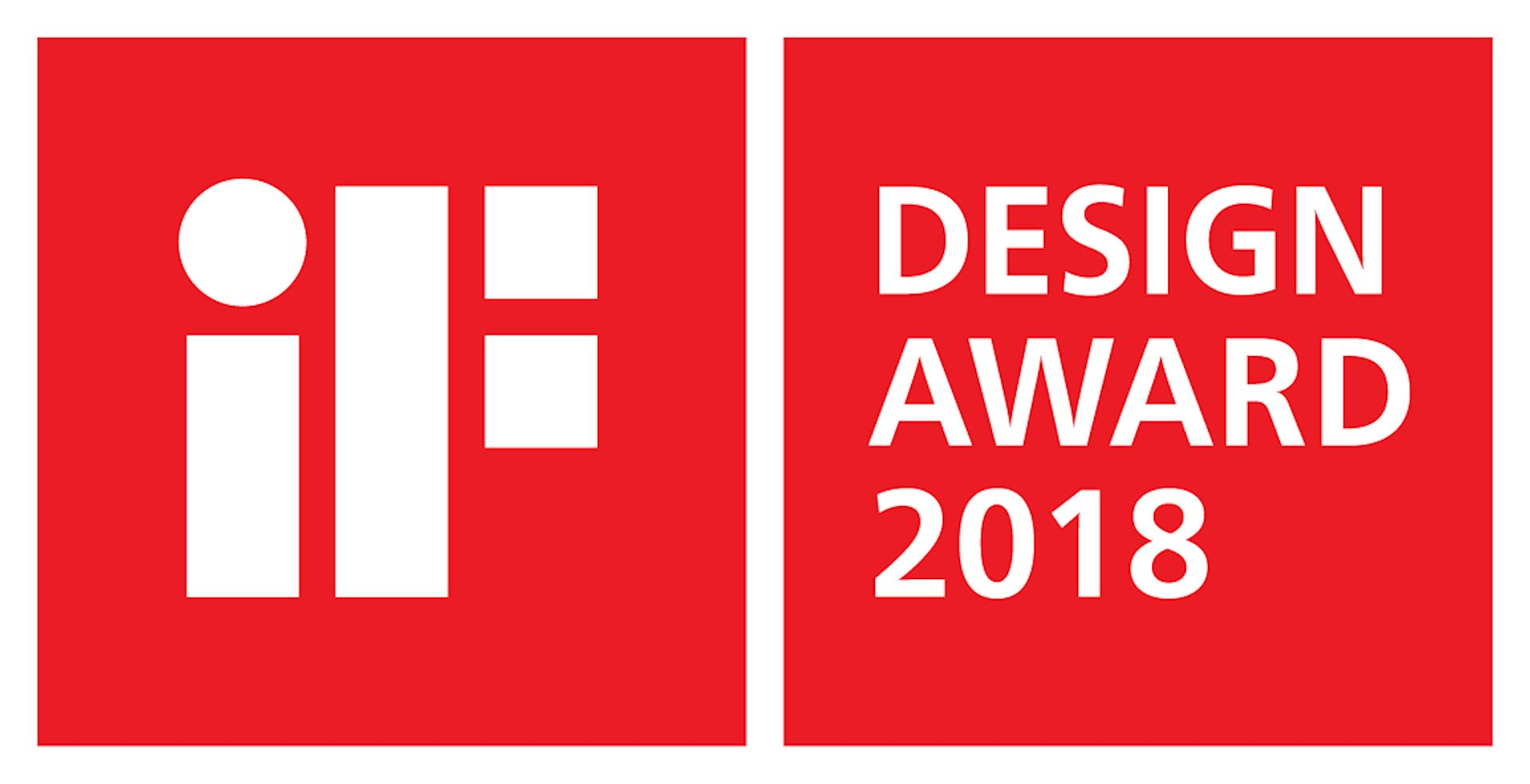 Winner iF DESIGN AWARD 2018