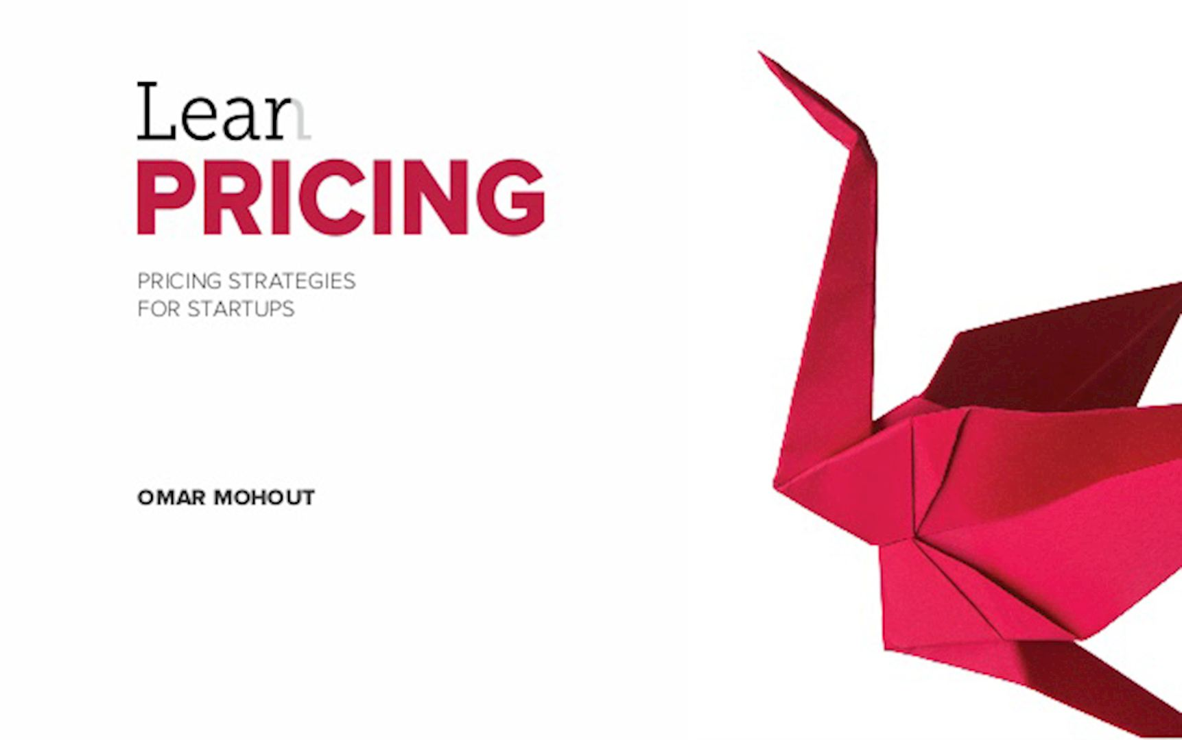 Lean Pricing par Omar Mohout