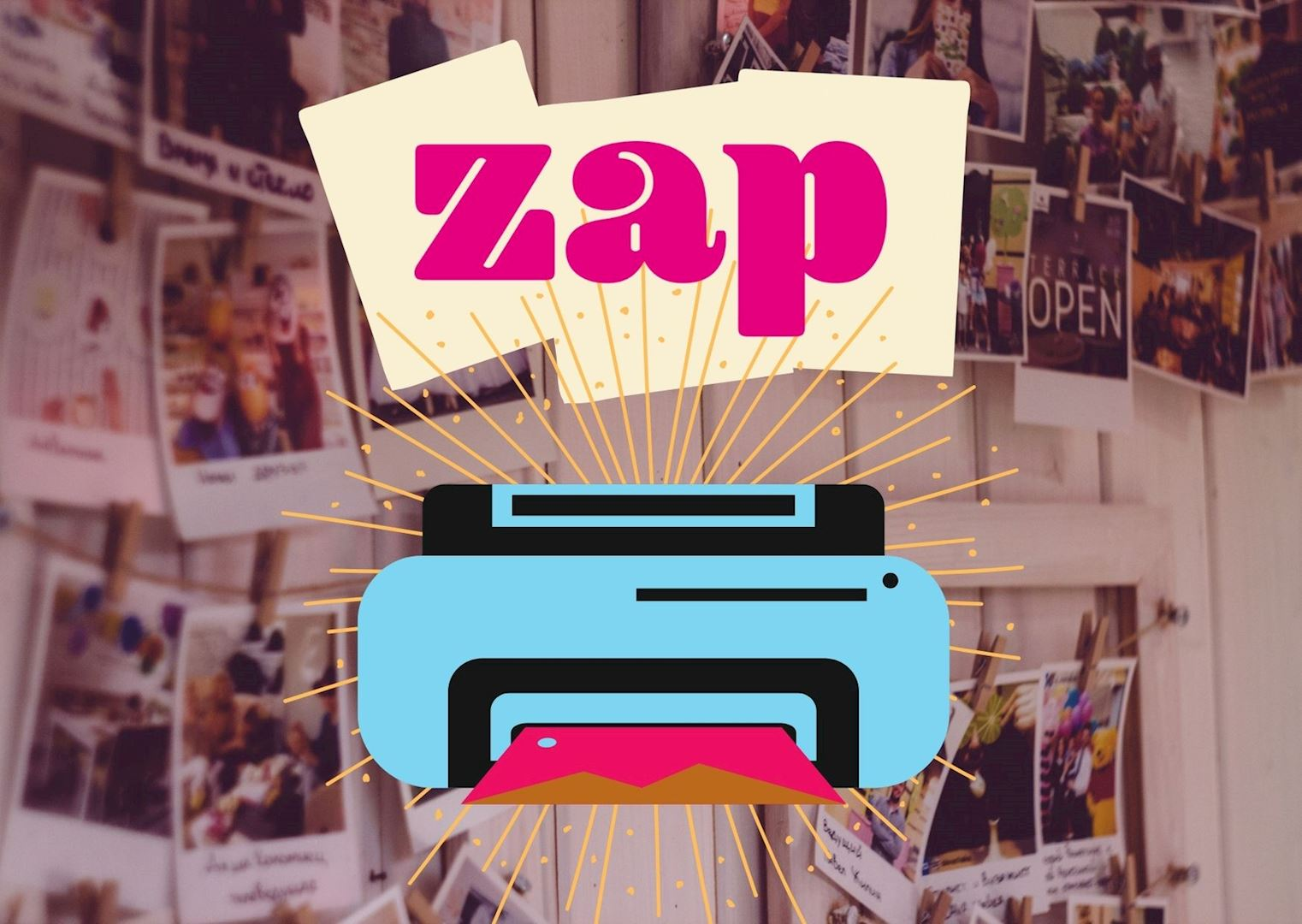 Zap | Win een minifotoprinter