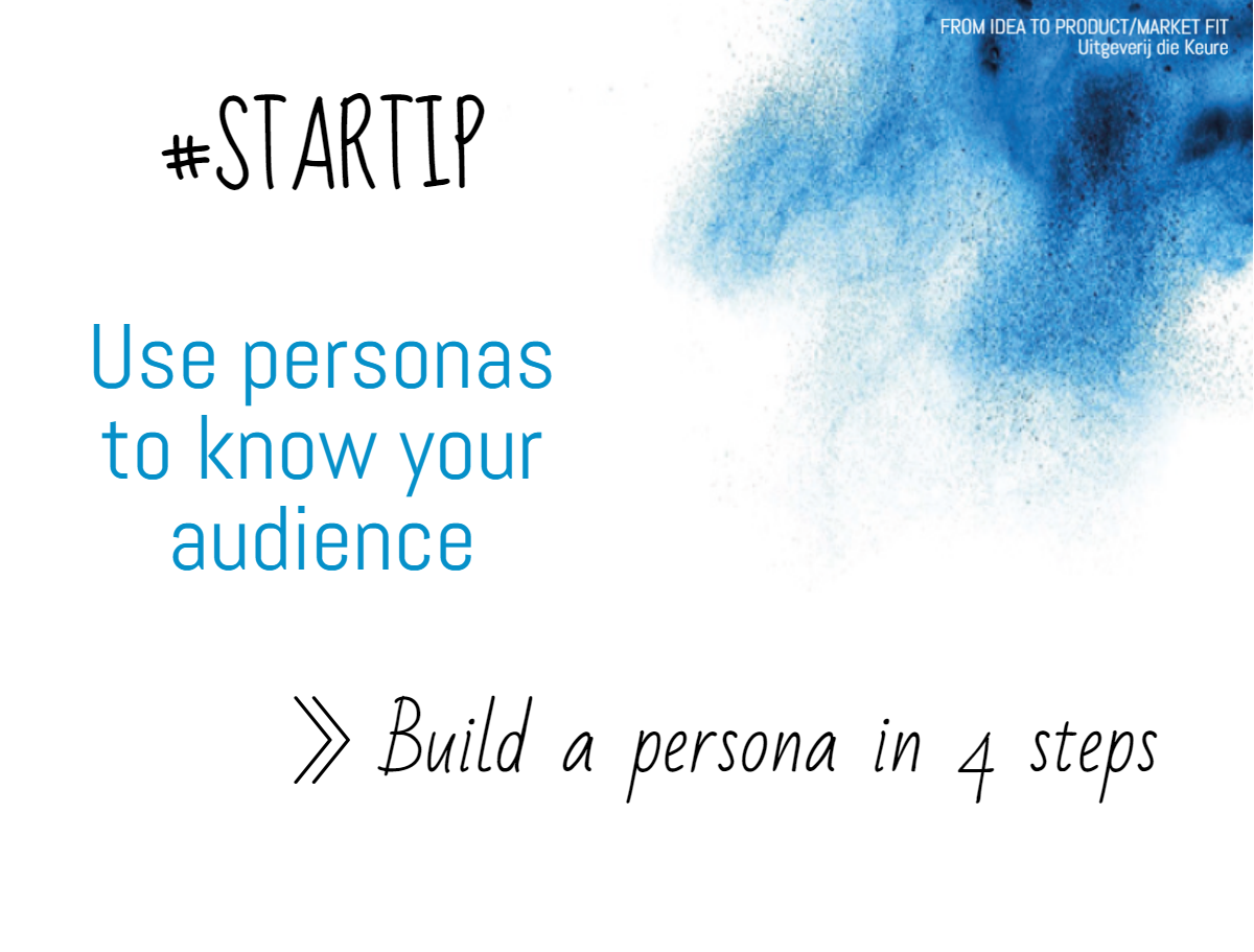 Building a persona in 4 steps
