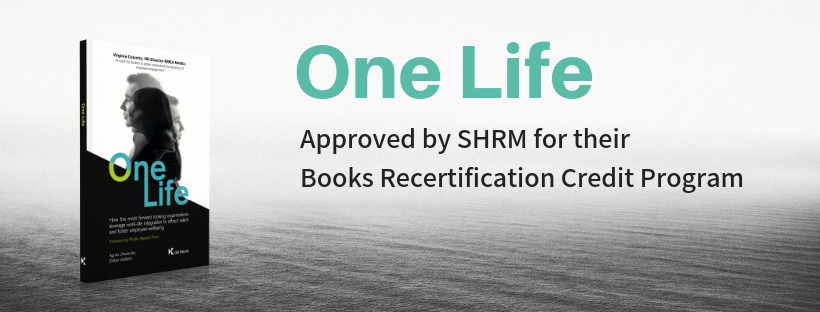 One Life: approved by SHRM for their Books Recertification Credit Program